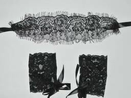 Комплект для игр маска и наручники эротическое белье сексуальное белье