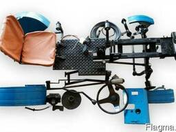 Комплект для переделки мотоблока в трактор комплект Eксперт2