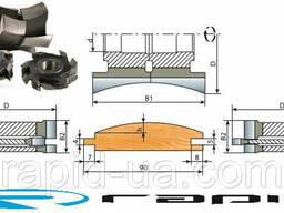 Комплект фрез для изготовления Блок-хауса 140х30/32/40х92...