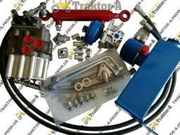 Комплект гидравлики для мотоблока, минитрактора