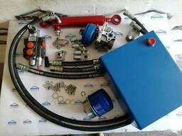 Комплект гидравлики для мотоблока с 1-секц. распредом и 10л