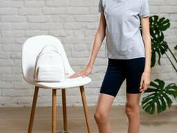 Трикотажные шорты подростковые для девочки темно-синего цвета 38