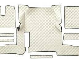 Комплект ковриков салона MAN TGX 2018 экокожа