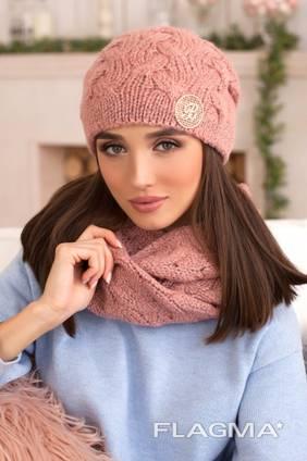 Комплект «Кристель» (шапка и шарф-снуд) 4396-8