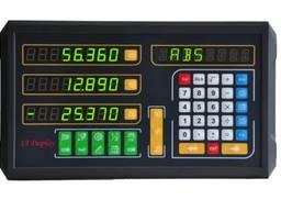 Комплект линеек и УЦИ Ditron на токарный станок 1К62, 3 оси, РМЦ 710 мм.