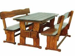 Производство мебели из натурального дерева для кафе. ..