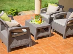 Комплект мебели Allibert Corfu - капучино
