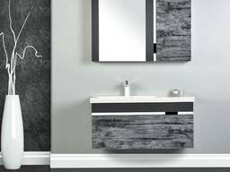 "Комплект мебели для ванной GOLD ""Ronon""(Турция), 1000х440х53"