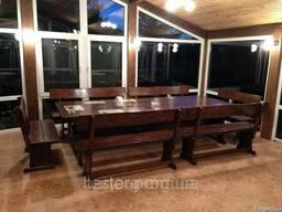 Комплект мебели из натурального дерева для ресторана 2700*12