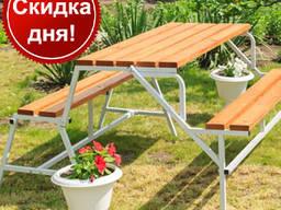Комплект мебели, садовая лавка трансформер- скамейка
