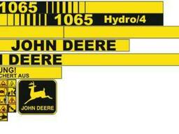 Комплект Наклеек на комбайн John Deere 1065