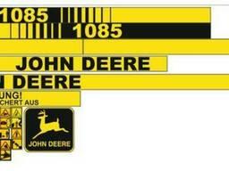 Комплект Наклеек на комбайн John Deere 1085