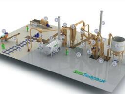 Комплект оборудования для производства древесной муки