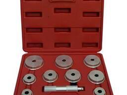 Комплект оправок для установки подшипников и сальников универсальный (10 ед), HS-E2010. ..