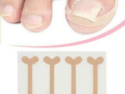 Комплект патчей для коррекции вросших ногтей, 4шт. ..