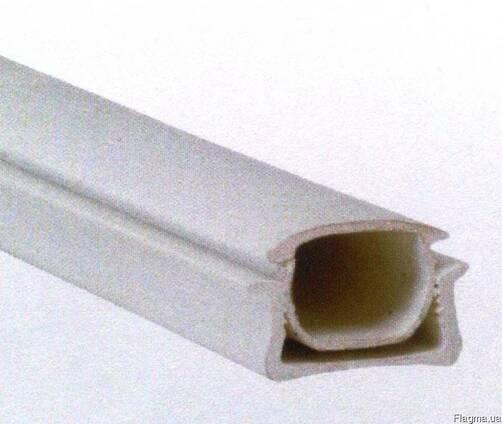 Комплект пластикових профілів для фіксації плівки на теплиці
