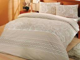Комплект постельного белья полуторный Altinbasak Natura Krem