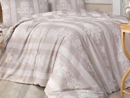 Комплект постельного белья полуторный Altinbasak Nobby Bej