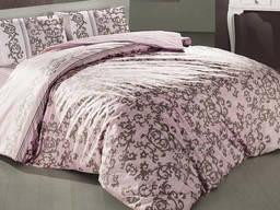 Комплект постельного белья полуторный Altinbasak Suave Pembe