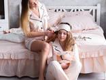 """Комплект постільної білизни та піжами """"НЮД"""" - фото 1"""