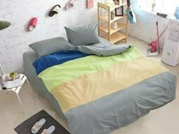Комплект постільної білизни TAG Color mix CM-R09, Різні кольори, Сімейні, 2 x 50x70 см