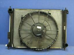 Комплект радиатора вентилятор Hyundai I 20 2008-2014 б/у