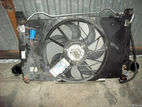 Комплект радиатора вентилятор Mercedes W169 W245 б\у