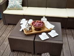 Мебель для сада и кафе из исскуственного ротанга