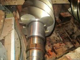 Комплект роторов (ведомый и ведущий) фреонового компрессора