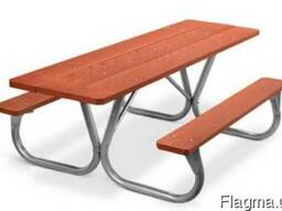 Комплект – садовый стол для пикника