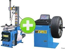 Комплект шиномонтажного оборудования BEST T521 W60
