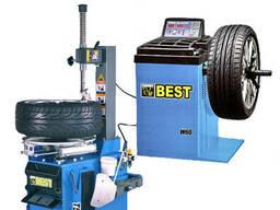 """Комплект шиномонтажного оборудования до 21"""" ShiningBerg (Best) T521 W60"""