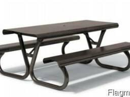 Комплект – стол для пикника, антивандальный