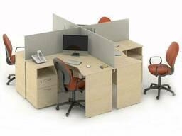 Комплект столов M-concept Сенс 16 Береза