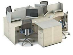 Комплект столов M-concept Сенс 17 Береза