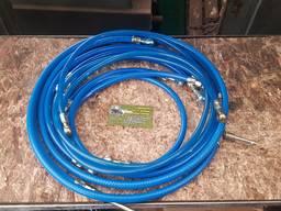 Комплект топливных шлангов низкого давления МТЗ-80/82 Ф14 (7 шт)