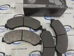 Комплект тормозных колодок на Атаман, ISUZU NPR75 евро 5