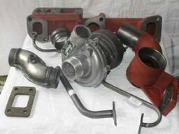 Комплект установки турбины на двигатель Д-240, Установка. ..