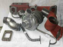 Комплект установки турбины на двигатель Д-240, Установка...