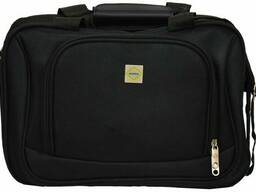 Комплект валіза і сумка Bonro Best середній чорний (10080604)