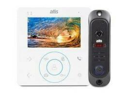 Комплект видеодомофон и панель ATIS AD-480 W KIT BOX