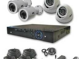 Комплект видеонаблюдения Atis KIT CVR-504