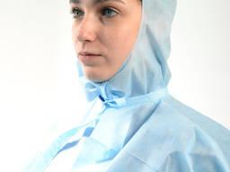 Комплект захисний: плащ-накидка, шапка, бахіли