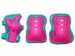 Комплект защитный SportVida SV-KY0002-M Size M Blue-Pink SKL41-227692