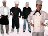Поварская одежда, кителя повара, комплекты поваров - фото 1