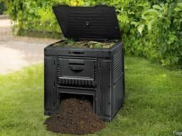 Компостер садовый E-Composter with Base 470L Allibert, Keter