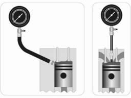 Компресометр для дизельних двигунів YATO 7 Мпа з інструментами 19 шт + кейс