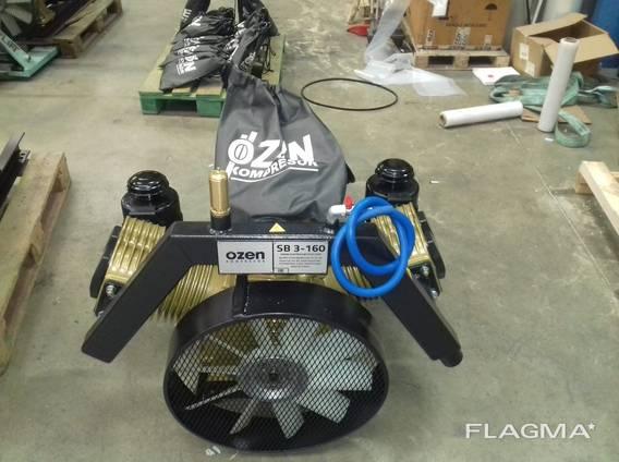 Компрессор для установки на автоцистерны для выгрузки сыпучих материаловов