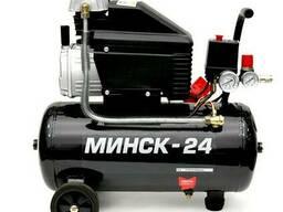 Компрессор Минск-24, 1.5 кВт, 220 В, 8 атм, 205 л/мин. ..