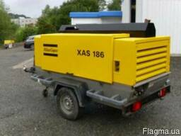 Компрессор винтовой Atlas Copco XAS 186, 7 бар, 11м3/мин